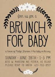 baby brunch invitations baby shower invitation baby shower brunch baby shower brunch