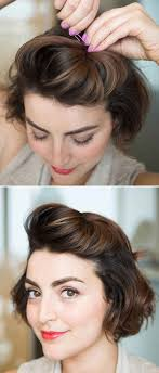 easy to keep hair styles 18 ways to get your bangs out of your face bangs crown and hair