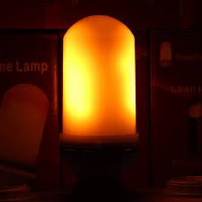 Flickering Light Bulb Halloween Flickering Led Candle Light Bulbs Online Flickering Led Candle