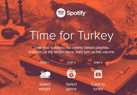 your spotify thanksgiving playlist based on your turkey s cook time