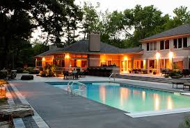 Concrete Pool Designs Ideas Midwest Swimming Pool Concrete Pool Deck Swimming Pool Blue Ridge