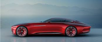 classic red mercedes vision mercedes maybach 6 six meter future classic autonomy