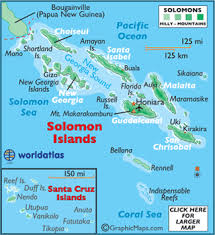 map of the islands solomon islands map geography of the solomon islands map of