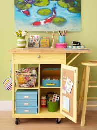 Kitchen Craft Ideas 8 Clever Craft Storage Ideas The Decorating Files