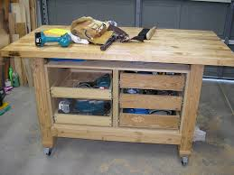 rolling work table plans plans rolling workbench plans ideas rolling workbench plans