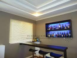 bar living room venetian blinds featured at living room mini bar makati city for