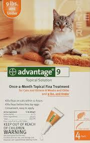 amazon com advantage ii once a month topical flea treatment for