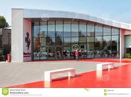 maranello italy ferrari museum maranello entrance detail modena italy year 98959469 jpg