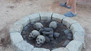 Backyard Skulls How To Set Up Your Fc Skull Fire Pit Youtube