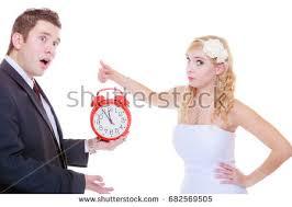 bad bid wedding waiting celebration negative bad stock photo