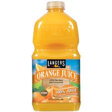 langers orange juice 64 fl oz walmart com
