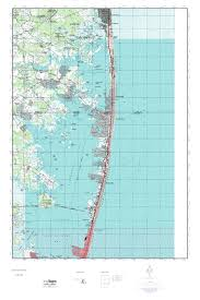 Ocean City Md Map Mytopo Assawoman Bay Maryland Usgs Quad Topo Map