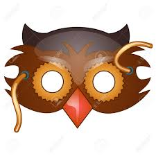 owl mask 387 owl mask cliparts stock vector and royalty free owl mask