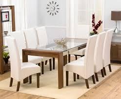 Stylish Glass Dining Tables Regarding Present Property Vookascom - Stylish kitchen tables