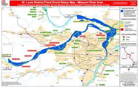 Saint Louis Zip Code Map by Missouri Flooding Map Missouri Map