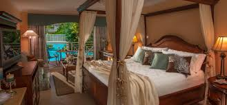 Heart Shaped Bed Frame by Sandals Grande St Lucian Luxury Resort In St Lucia Sandals
