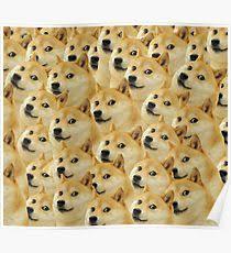 Doge Meme - doge meme posters redbubble