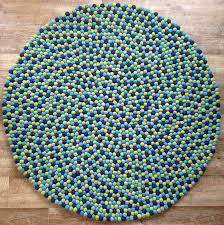 Mint Rug Navy Round Rug Roselawnlutheran