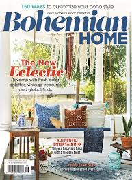 home decorating magazine subscriptions flea market décor magazine fmd bohemian home 2017 subscriptions