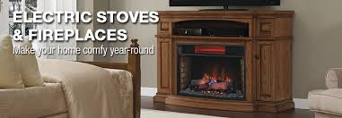 Fireplace Tv Stand Menards by Electric Stoves U0026 Fireplaces At Menards