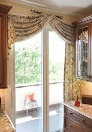 kitchen door curtain ideas kitchen sliding glass door curtains martaweb regarding patio decor