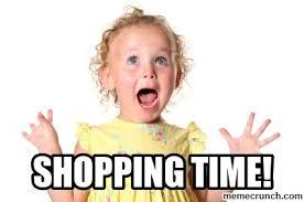 Shopping Meme - time