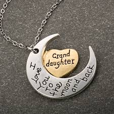 granddaughter necklace in stock and ships within 24 hours fast delivery within 2 4