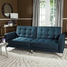 Dark Blue Loveseat Sectionals Under 500 Hammondale Pin Tufted Convertible Sofa Grey