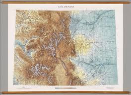 Maps Colorado Colorado Physical David Rumsey Historical Map Collection
