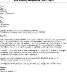 ideas collection cover letter for a online job posting in job