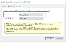 If You Blind Copy Someone Can They Reply All Email Merge With Personalised To And Related Cc Bcc Fields In