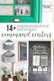 center ideas 14 clever ideas for an entryway command center craftivity designs