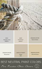 the best neutral paint colors to enhance your rustic style