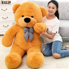 big teddy for s day 2017 220cm teddy stuffed brown jumbo doll for