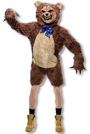 Brown Bear Halloween Costume Zombie Teddy Bear Costume Halloween Horror Shop