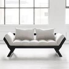 canapé futon et bois noir design bebop karup achat vente canapé