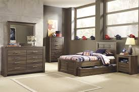 King Bedroom Sets With Storage Under Bed Buy Juararo Full Panel Bed With Trundle Under Bed Storage By