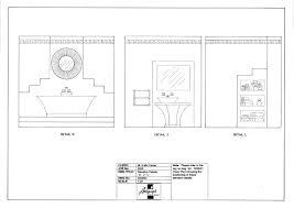 art deco bathroom concept autograph interior design