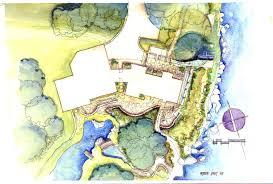 Simpsons House Floor Plan Watercolor House Plans House Design Plans