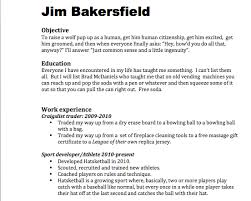 Worst Resumes Ever Insane Resumes That Show You How To Not Get A Job Gallery
