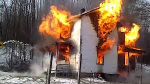 old farm house burning youtube