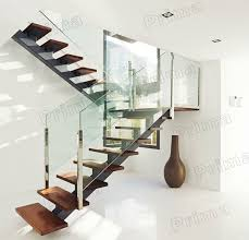 Glass Handrails For Stairs The 25 Best Glass Handrail Ideas On Pinterest Glass Railing