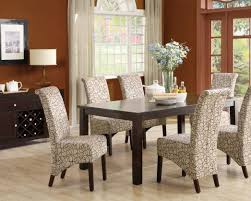 dining room noteworthy upholstered dining room chairs blue
