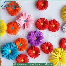 paper flower handmade simple paper flowers bellis china suppliers paper crafts