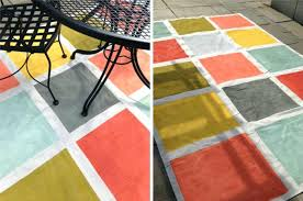 Painting An Outdoor Rug New Paint Outdoor Rug How To Paint An Indoor Outdoor Rug Flooring