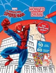 booktopia draw amazing spider man easy step step
