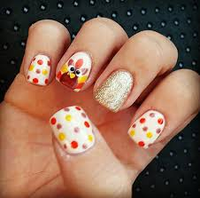 design nail for thanksgiving how you can do it at home pictures