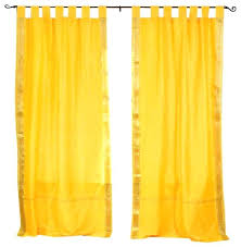 Tab Top Curtains Walmart Yellow Curtains Yellow And White Curtains Walmart Upsite Me