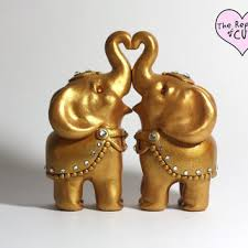 indian wedding cake toppers elephant wedding cake topper gold elephant wedding cake toppers