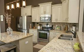 White Kitchen Cabinets With Granite Countertops Beautiful Kitchen Cabinets And Granite Countertops Love The Light